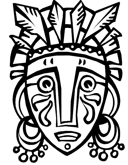 printable african masks coloring pages textures with prills in an african mask create n craft